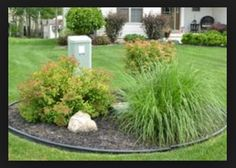 Landscaping around electrical boxes #landscaping