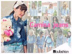 Nos looks urbanos de blogueiras, celebridades e formadores de opinião elas são as queridinhas. As camisas jeans em suas variadas cores e lavagens arrasa!
