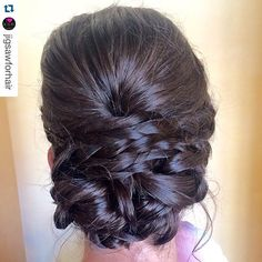 """ trial day at #jigsawforhair by #yegstylist @tawshadawn! @stylesandthecit #stylesandthecity #bridaltrial #bridalhair #bridalhairstyle #weddinghair #weddinghairstyle #weddinghairstyles #yeghair"" Photo taken by @stylesandthecitybytawsha on Instagram, pinned via the InstaPin iOS App! http://www.instapinapp.com (07/25/2015)"