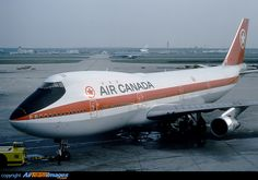 Air Canada Boeing C-FTOE being pushed back at Frankfurt-Main, circa (Photo: Wolfgang Mendorf) Boeing Aircraft, Passenger Aircraft, Tupolev Tu 144, Canadian Airlines, Jet Airlines, International Airlines, Air Photo, Commercial Aircraft, Civil Aviation
