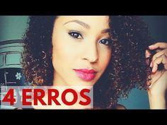 4 HÁBITOS ERRADOS - Cuidado com os Cabelos - YouTube