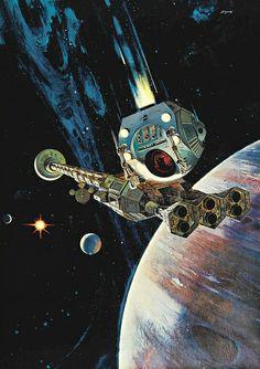 Robert McCall - 2001 : A Space Odyssey, 1968 by myriad, via Flickr