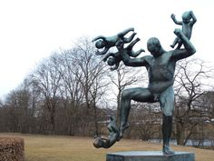 Un peu d'art à Oslo : l'installation Vigeland | Cross my Heart and Hope to Die