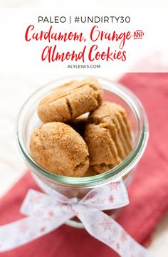 Holiday Sweets & Treats Recipe eBook gives you 10 gluten-free, grain-free and refined sugar-free for a healthy and pain-free holidays. Healthy Dessert Recipes, Desserts, Almond Cookies, Guilt Free, Grain Free, Sugar Free, Peanut Butter, Ice Cream, Sweets