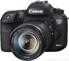 Is the Canon EOS 7D Mark II DSLR Camera right for you? Learn all you need to know about the Canon EOS 7D II in The-Digital-Picture.com's review!