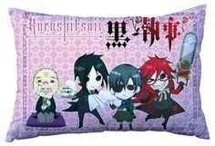 Kuroshitsuji Pillow KUPW8654   123COSPLAY   Anime Merchandise Shop Free Shipping From China   Anime Wholesale