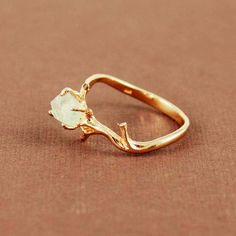 Tree Branch Ring - Rings with Trendy, Casual, Yellow, White, Party, Date, Love it! on We Heart It. http://weheartit.com/entry/38510077