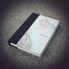 Chicagoland Hand Bound Journal/Sketchbook
