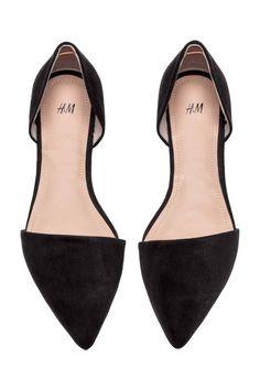 Балетки - Черный - Женщины   H&M RU
