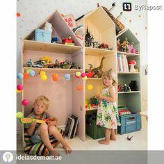 """""""Criando ambientes lúdicos para crianças com #fiodeluz #Cormilu Amamos a foto @ideiasdemamae """""""
