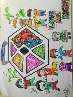 EXO #EXO #DOODLEEXO #DOODLE #fanart #doodlers
