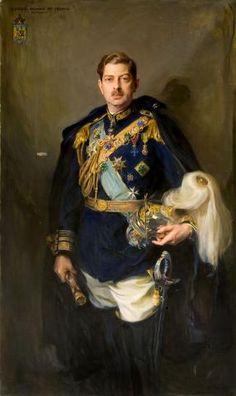King Carol II of Romania 1936, by Phillip de Laszlo,