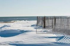 Image result for snow storm at the beach