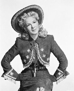 Picture of Betty Hutton  as Annie Oakley  from Annie Get Your Gun   High Quality Photo  B69879