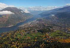 My home, Nelson BC Canada