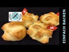 Augustweggen zum Schweizer Nationalfeiertag mit Rezept - YouTube Muffin, Cheese, Marcel, Breakfast, Food, Youtube, National Day Holiday, Bee Cakes, Just Bake