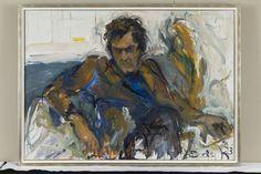 National Portrait Gallery presents rarely seen portraits by Elaine de Kooning Willem De Kooning, Expressionist Artists, Abstract Expressionism, Mondrian, Renoir, De Kooning Paintings, Elaine De Kooning, Francoise Gilot, Joseph
