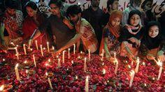 Pakistani Christians clash with police over church attacks - BOSTON HERALD #Pakistan, #Attacks, #Clashes