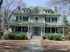 BEFORE: Brantley-Haygood House, Sandersville, Ga.