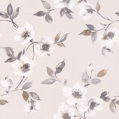 Anemone Opal wallpaper by Galerie