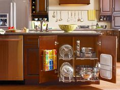 10 Clever Ways to Keep Your Kitchen Organized : Home Improvement : DIY Network