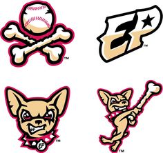 New Logos for El Paso Chihuahuas by Brandiose