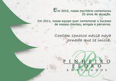 Cartão de Natal PPA