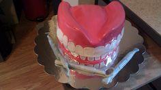 Dentures Cake By Tabitha Rodriguez @ Tabi's Custom Creations