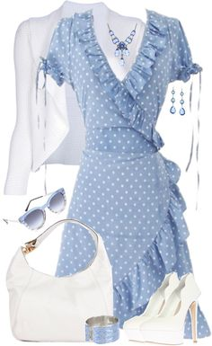 """Gorgeous Wrap Dress"" by lmm2nd on Polyvore"