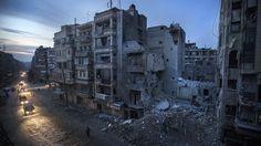Alepo las terribles postales de una ciudad destruida por la guerra - Infobae.com
