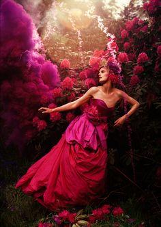 Stella Tennant by Tim Walker for Vogue Italia