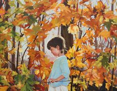 Autumn Painting by Sarah Pogue