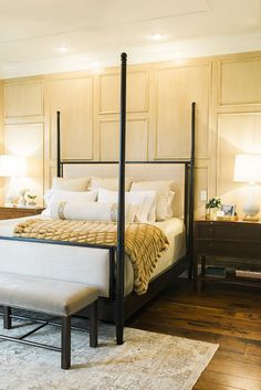 Stunning, classic bedroom