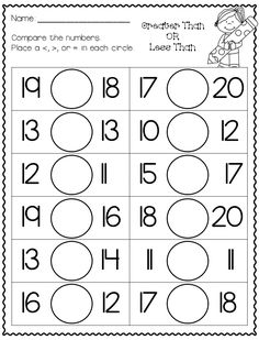 Need something for number sense This is the packet for you! Full of black and white printables to use in the classroom!no prep needed! English Worksheets For Kids, Printable Math Worksheets, Kindergarten Math Worksheets, Math Literacy, Homeschool Math, Math Classroom, Maths, Go Math, Math For Kids