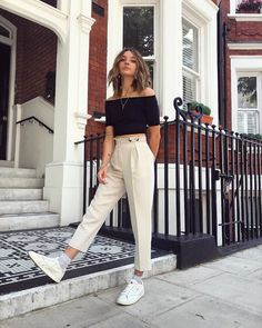 15 Cute Crop Tops Every Girl Should Own in 2019 - Summer outfits Cute Summer Outfits, Simple Outfits, Spring Outfits, Trendy Outfits, Cute Outfits, Fashion Outfits, Dress Outfits, Dress Shoes, Looks Teen
