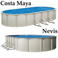 Which one would you choose? The Costa Maya? http://spapoolbilliards.com/above-ground-swimming-pool-costa-maya The Nevis? http://spapoolbilliards.com/above-ground-swimming-pool-nevis