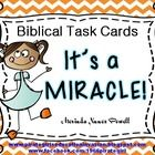 It's a MIRACLE is a set of 20 Biblical Task Cards that focus on the miracles of Jesus. Each task card gives a reference to scripture for your stude...