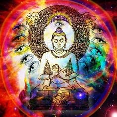 Image shared by Emily. Find images and videos about color, peace and Buddha on We Heart It - the app to get lost in what you love. Lotus Buddha, Buddha Zen, Gautama Buddha, Buddha Buddhism, Buddhist Wisdom, Stoner Art, Cosmic Consciousness, Psy Art, Tree Of Life