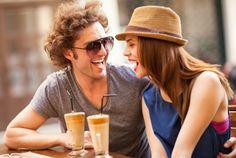 Laughing wid u in cafe :)