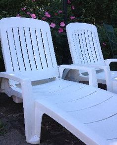 how to clean chalky plastic lawn chairs pinterest lawn gardens