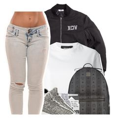 """""""This plane is too. cold"""" by xbad-gyalx ❤ liked on Polyvore featuring Dsquared2, MCM, Casetify, Rolex and adidas Originals"""