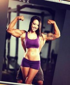 Cute fitness pic for couples
