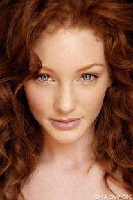 Beautiful Ginger Hair Color origin