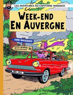 Les Aventures de Tintin - Album Imaginaire - Week-End en Auvergne