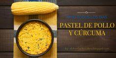 Pastel de Pollo y Cúrcuma,apto todos los días dukan suave ,la escalera nutricional