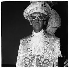 View Masked man in white, N. 1967 by Diane Arbus on artnet. Browse more artworks Diane Arbus from Fraenkel Gallery. Diane Arbus, Vivian Maier, Lee Friedlander, Berenice Abbott, Circus Performers, Nyc, Transgender People, Masked Man, Artwork Images