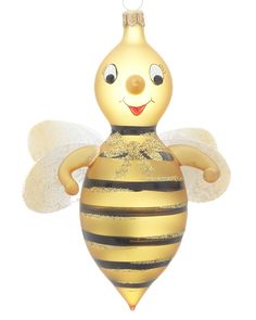 Another excellent choice for the Bee Christmas Tree in the DH's office! Yellow Bee Christmas