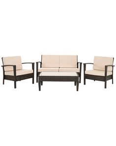 Spotted this 4pc Piscataway Outdoor Furniture Set on Rue La La. Shop (quickly!).