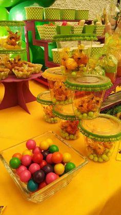Mesa de dulces VERDE