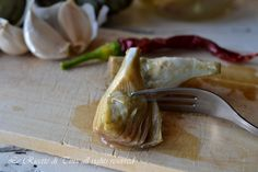 carciofi sott'olio,conserva di carciofi,carciofi,le ricette di tina,ricette con carciofi,